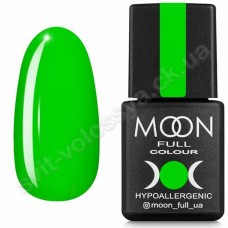 MOON Гель-лак Neon №702 8ml салатовый яркий