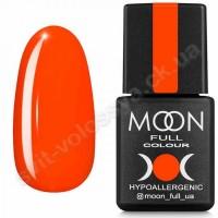 MOON Гель-лак Neon №707 8ml морковно-коралловый