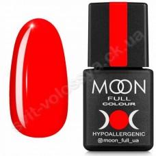 MOON Гель-лак Neon №708 8ml ярко-красный