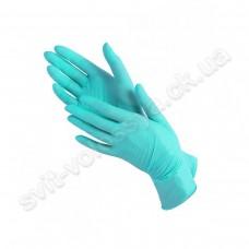 Перчатки нитриловые мятный 100 шт.